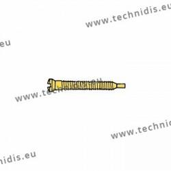 Self-tapping screw 1.3 x 1.9 x 11.5 - gold