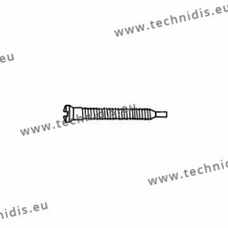 Self-tapping screw 1.4 x 1.9 x 11.5 - white