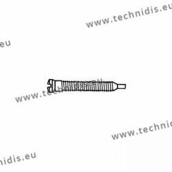 Self-tapping screw 1.5 x 1.9 x 11.5 - white