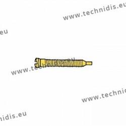Self-tapping screw 1.5 x 1.9 x 11.5 - gold