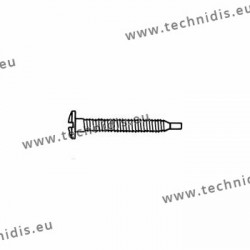 Self-tapping screw 1.4 x 2.8 x 11.5 - white