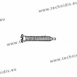 Self-tapping screw 1.5 x 2.8 x 11.5 - white