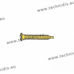 Self-tapping screw 1.5 x 2.8 x 11.5 - gold