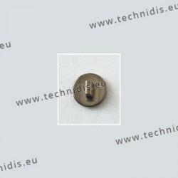 Plaquettes à clipper en titane 8 mm - aspect titane