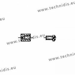 Accessoires de montage pour monture métal