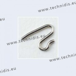 Nose pad arms for solid nose pads - nickel plated