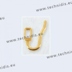 Nose pad arms for Primadonna nose pads - gold plated
