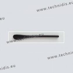 Embouts cylindriques - noir