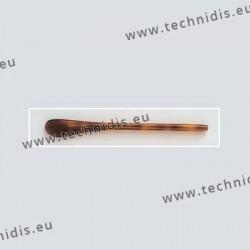 Embouts cylindriques - jaspé écaille clair