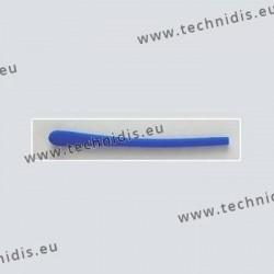 Embouts courts en polymère - bleu