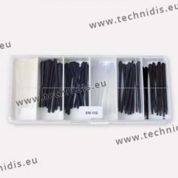 Assortiment de 30 paires d'embouts en silicone