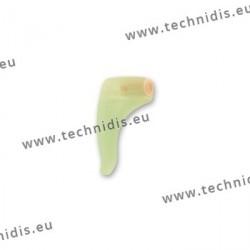 Crochets de sécurité en silicone avec blocage - Vert