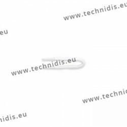 Brucelles en plastique avec pointes silicone - petit modèle