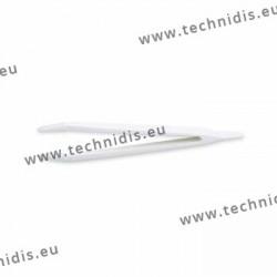 Brucelles en plastique avec pointes silicone - grand modèle