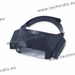 Lighting binocular magnifier