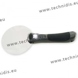 Illuminating magnifier - diameter 90 mm