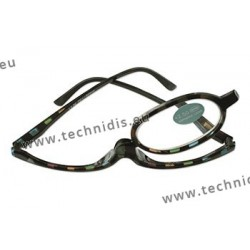 Plastic make-up glasses + 2.0