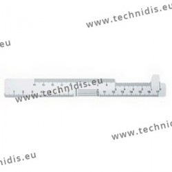 Optician ruler (A type)