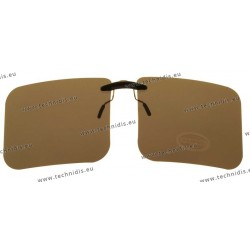 Sun clips with mini mechanism - Brown - Large size