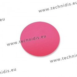 CR 39 lenses - fuchsia pink