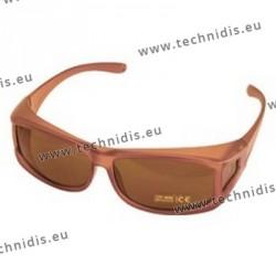 Surlunettes de protection solaire - Ambre