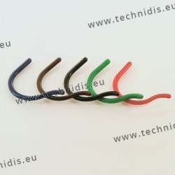 Embouts crochet standards - petite taille - noir