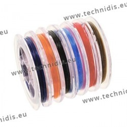 Set of nylon replacement cords - 6 spools