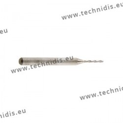 Nidek ® cutter, right helix - drilling dia. 1.0 mm