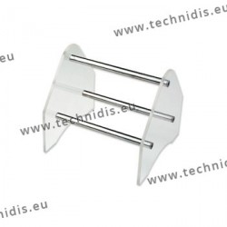 Rack for pliers - 80 mm - crystal