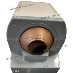 Frontal hand edger with finishing diamond wheel